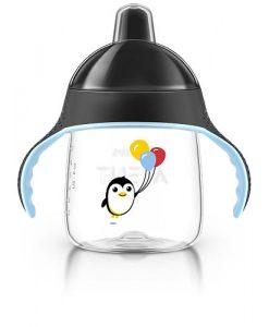 vaso pinguino  12+ negro