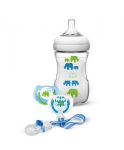 set regalo elefantes azul philips avent