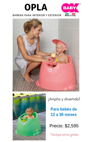 Bañera para interior y exterior Ok Baby